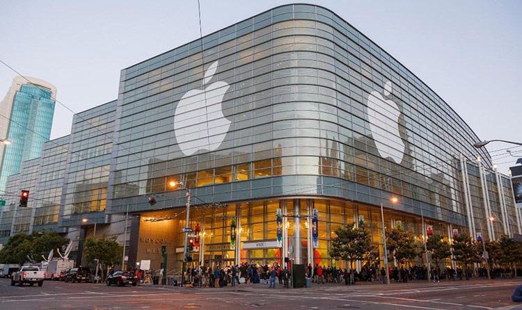 Apple top 10 thương hiệu giá trị nhất thế giới năm 2019.