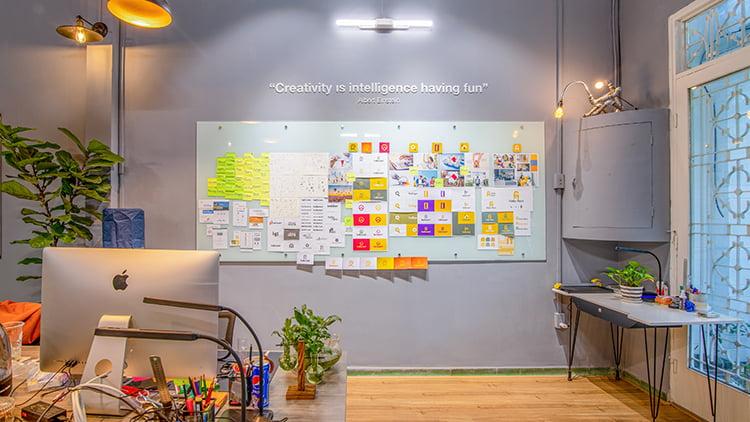 Tư vấn, thiết kế hệ thống thương hiệu hellorent, ứng dụng bất động sản tại Hoa Kỳ