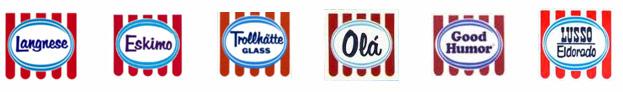 Unilever quyết định chỉ nên sử dụng một logo duy nhất cho các thương hiệu kem của mình.