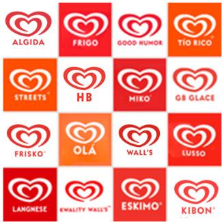 Đến cuối năm 2003, Heartbrand được tối giản hơn bằng cách loại bỏ phần nền màu vàng.