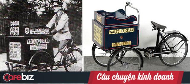 Chiếc xe bán kem đầu tiên của Wall's