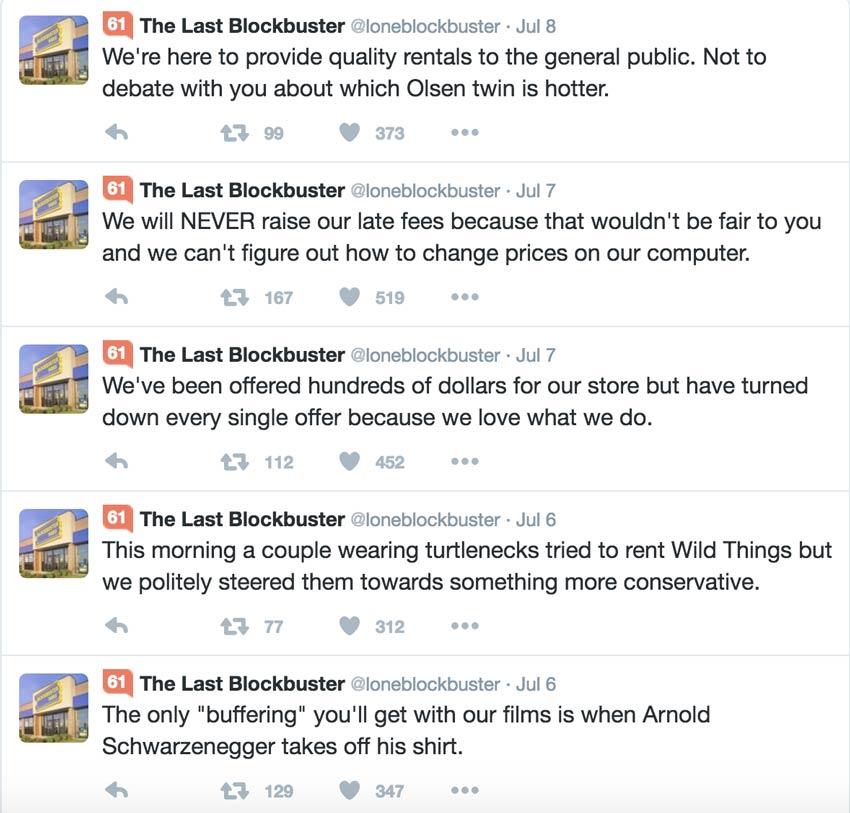Ảnh: Blockbuster từ chối thích nghi và phải trả giá đắt