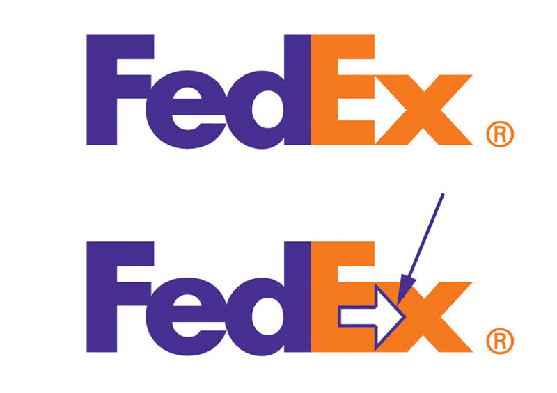 Mũi tên ẩn trong logo FedEx huyền thoại là kết quả của sự tình cờ