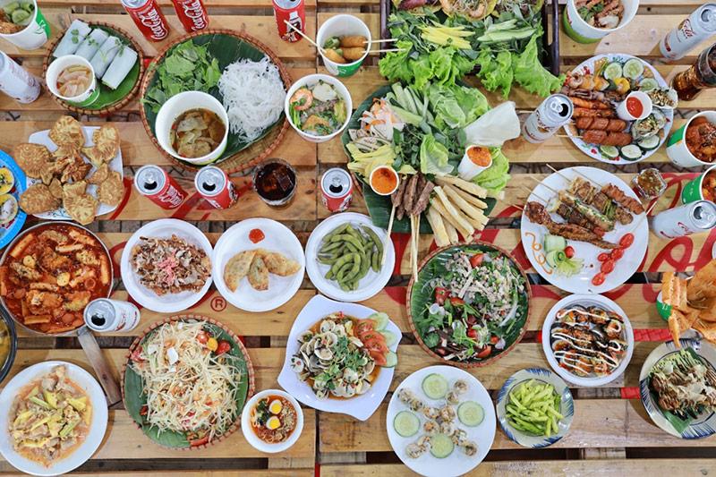 Thiên đường ẩm thực hot hit…