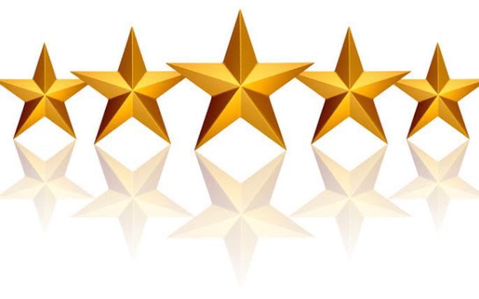 Năm cánh sao thương hiệu trong tiếng Anh là The Branding Pentagram.