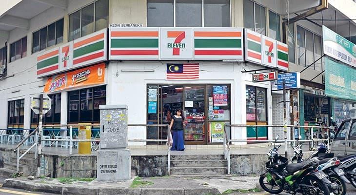 Không phải Circle K như ở Việt Nam, 7-Eleven mới là thương hiệu cửa hàng tiện lợi phổ biến nhất tại Malaysia.