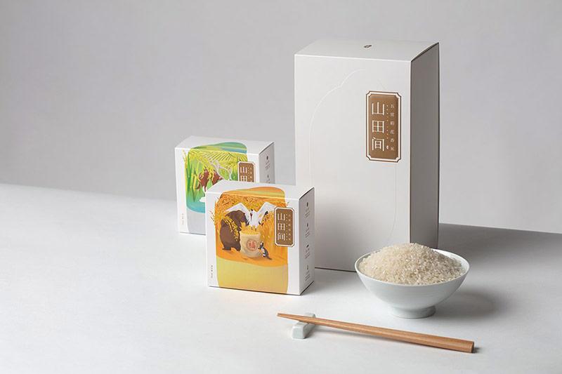Thiết kế sang trọng của một hãng gạo xuất khẩu