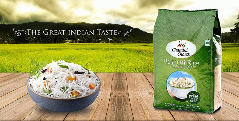 Thiết kế bao bì gạo đẹp của Ấn Độ