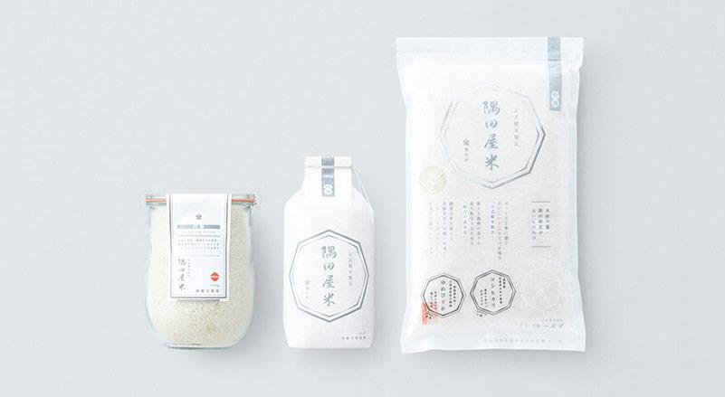 Thiết kế bao bì gạo trang nhã của Trung Quốc