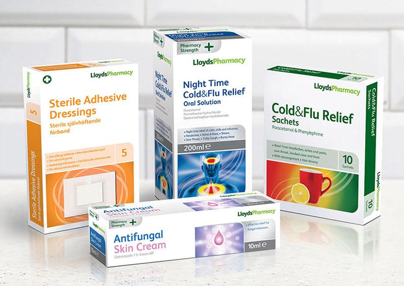Thiết kế bao bì hộp giấy dược phẩm cần tuân thủ đúng quy tắc mặt chính - phụ
