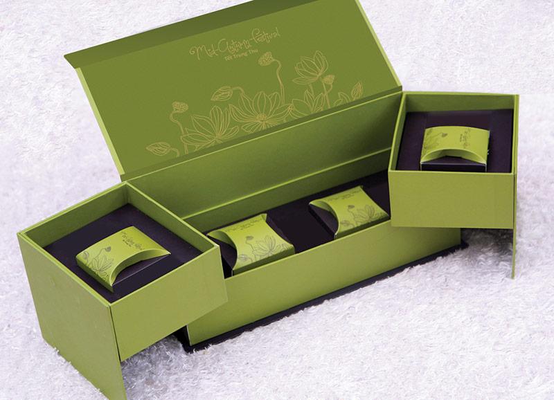 Hộp giấy đựng bánh trung thu sang trọng và có thể tái chế