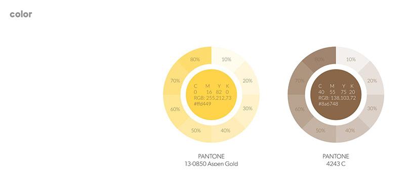Pantone màu sắc đối tác của Vũ Digital Agency - Hello Rent
