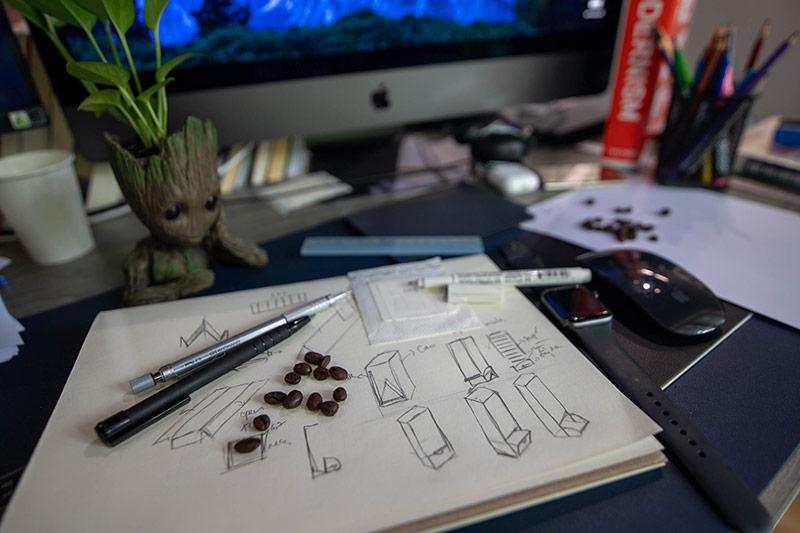 Hình ảnh ba chiều của sản phẩm đối tác được nhà thiết của Vũ Digital - Agency vẽ