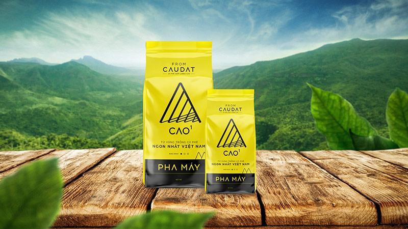 Dự án thiết kế bao bì cà phê chất lượng cao From CauDat