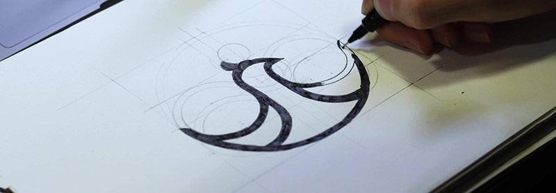Thiết kế logo Trâm Anh Boutique - Đối tác của Vũ Digital Agency