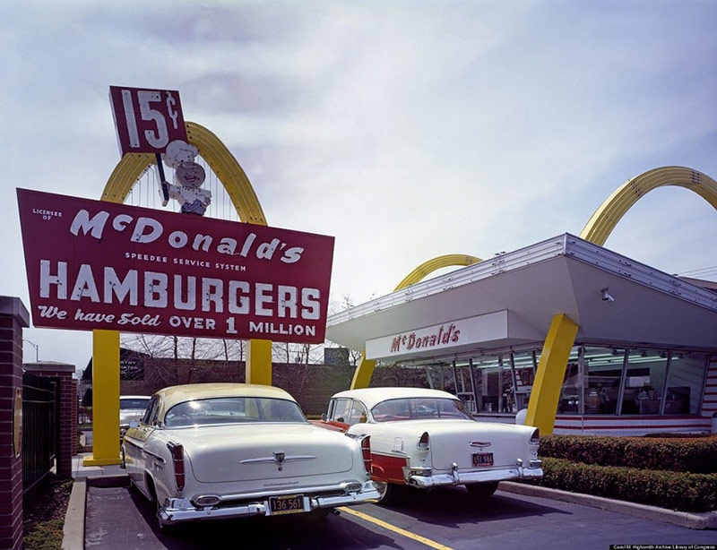 McDonald's những năm đầu trên thị trường