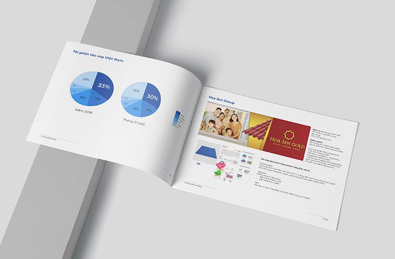 Bản nghiên cứu thị trường tôn, thép do Vũ Digital thực hiện.