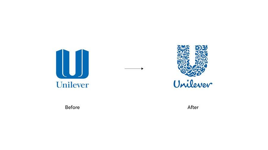 tái thiết kế thương hiệu từ việc thay đổi logo