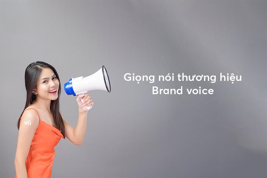 Giọng nói thương hiệu